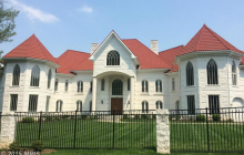 17,000 Square Foot Brick Mansion In Potomac, MD