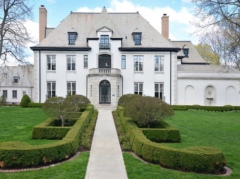 3 799 Million Historic French Provincial Home In Hinsdale Il Homes Of The Rich