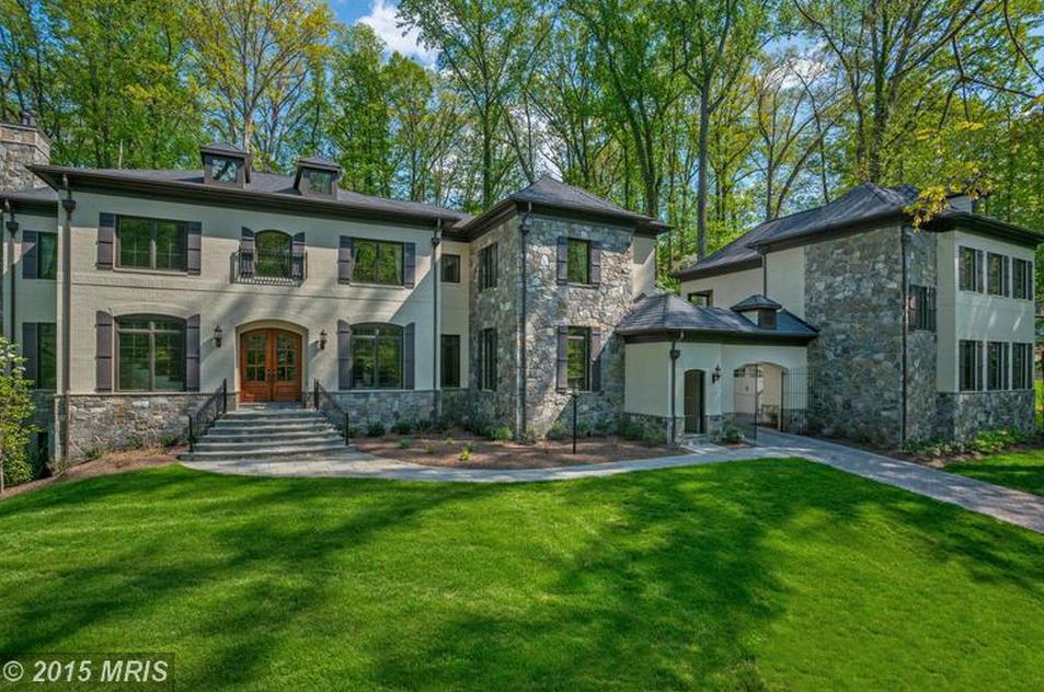 $4.25 Million Newly Built Brick & Stone Home In McLean, VA