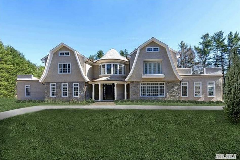 $4.588 Million Newly Built Shingle & Stone Mansion In Upper Brookville, NY