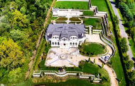Updated Pics Of A $20 Million 30,000 Square Foot Limestone Mega Mansion In Brookville, NY