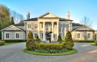 20,000 Square Foot Neoclassical Stone Mansion In Toronto, Canada