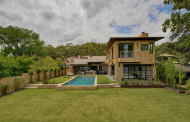$6.9 Million Waterfront Stone Home In Austin, TX