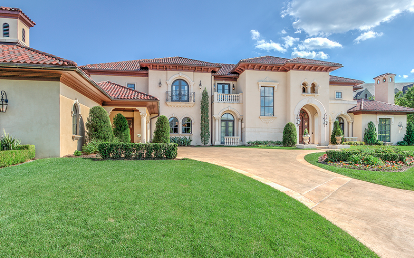 $3.9 Million 10,000 Square Foot Mediterranean Mansion In Oklahoma City, OK