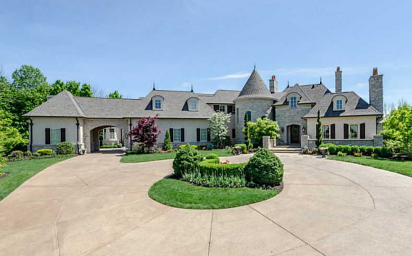 16,000 Square Foot French Inspired Mansion In Carmel, IN For Under $3 Million