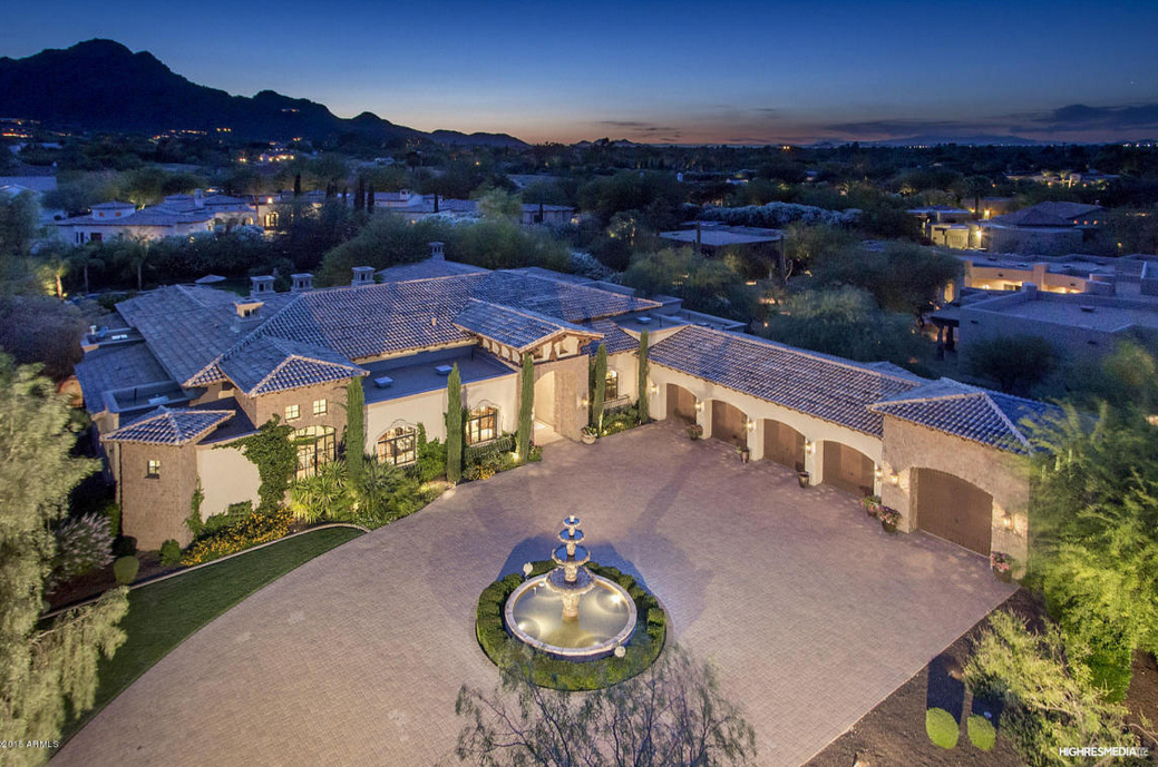 $3.495 Million Tuscan Inspired Home In Paradise Valley, AZ