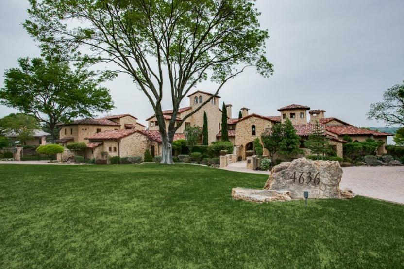$7.495 Million 13,000 Square Foot Tuscan Mansion In Dallas, TX