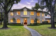 $5.17 Million Brick Mansion In Houston, TX
