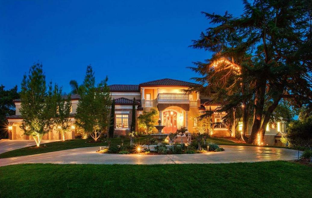 Villa Pallacanestra – A 14,000 Square Foot Mediterranean Mansion In Alamo, CA