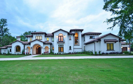 $3.25 Million Newly Built Stucco Mansion In Missouri City, TX