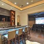 Wet Bar & Home Theater