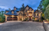 $3.789 Million Stone Mansion In Knoxville, TN