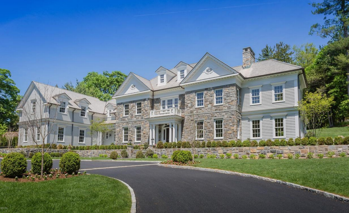 Georgian Colonial Mansion $8.77 million newly built georgian colonial mansion in greenwich