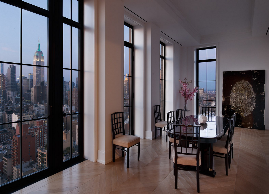 The Penthouse At Walker Towers In New York, NY Re-Listed For $70 Million
