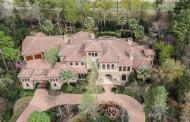 $4.35 Million Mediterranean Style Golf Course Mansion In The Woodlands, TX
