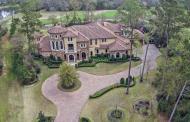 $4.25 Million Mediterranean Style Golf Course Mansion In The Woodlands, TX