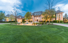 20,000 Square Foot Stately Brick Mansion In South Barrington, IL