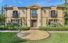 $9.69 Million Newly Built French Inspired Mansion In San Marino, CA
