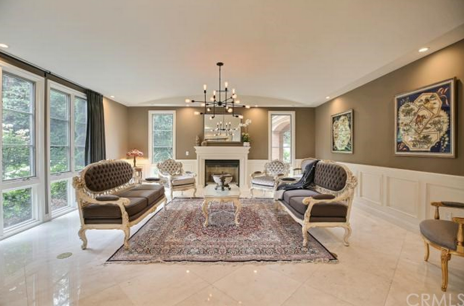 Million newly built french inspired mansion in san for The family room san marino