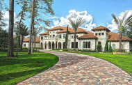 $6.9 Million Newly Listed 15,000 Square Foot Mediterranean Mansion In The Woodlands, TX