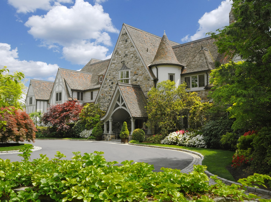 Bel Air Car >> $17.35 Million English Manor Estate In Greenwich, CT ...