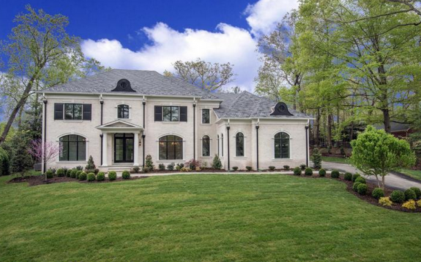 10,000 Square Foot Newly Built Brick Mansion In McLean, VA