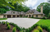 $3.75 Million European Inspired Stone Home In Atlanta, GA