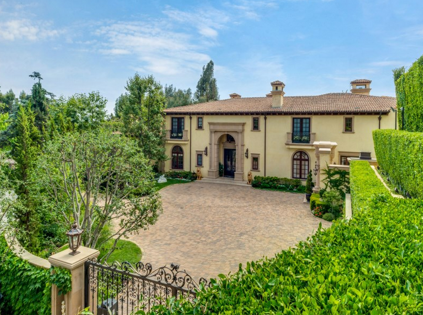 Tremendous Billionaire Alki David Lists Italian Inspired Mansion In Beverly Inspirational Interior Design Netriciaus