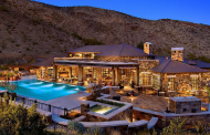 $2.799 Million Stone Home In Phoenix, AZ With Impressive Great Room