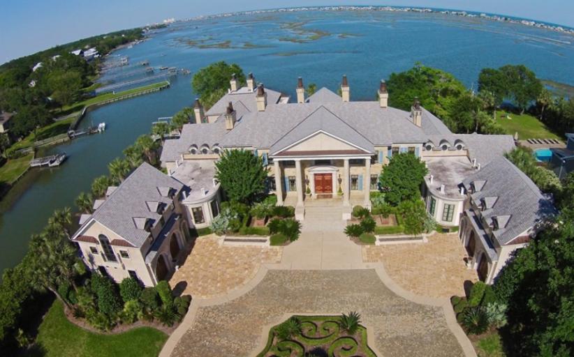 $4.9 Million Stunning Waterfront Mansion In Murrells Inlet, SC