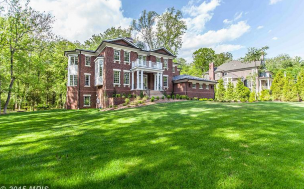 $4.299 Million Newly Built Brick Georgian Mansion In McLean, VA