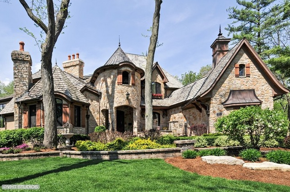 3 5 Million Riverfront Stone Mansion In Naperville Il