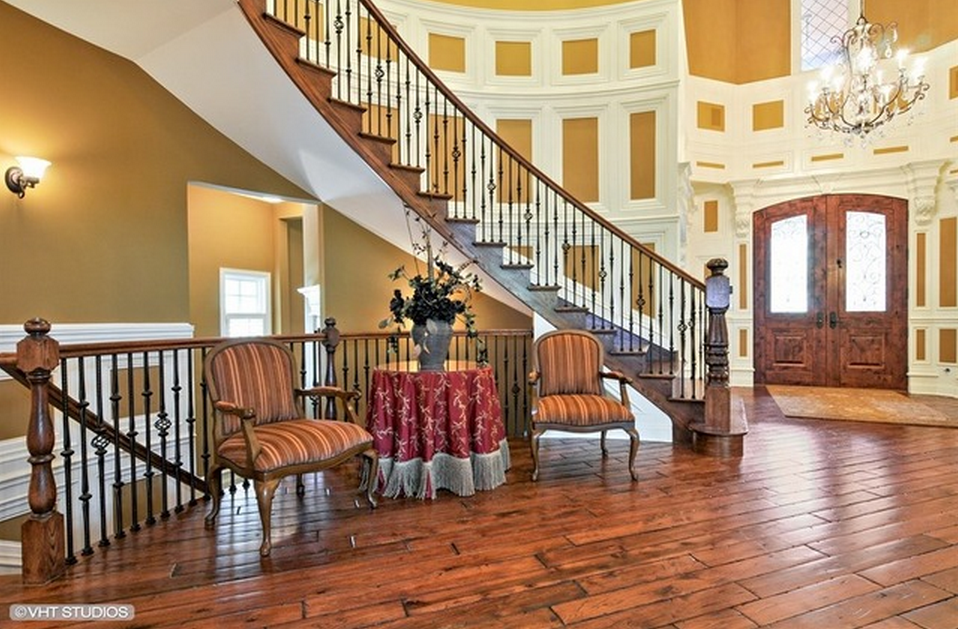 Story Foyer Forum : Million riverfront stone mansion in naperville il