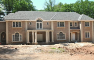 16,000 Square Foot Newly Built Brick Mansion In Saddle River, NJ