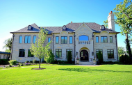$5.9 Million Newly Built Stone Home In Oak Brook, IL