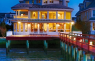 $5.995 Million Bayfront Home In Longport, NJ