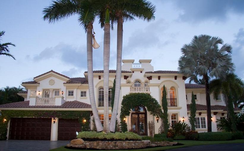 $4.35 Million Waterfront Mediterranean Home In Boca Raton, FL