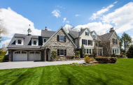 17,000 Square Foot Stone & Stucco Colonial Mansion In Villanova, PA