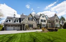 17,000 Square Foot Stone & Stucco Colonial Mansion In Villanova, PA