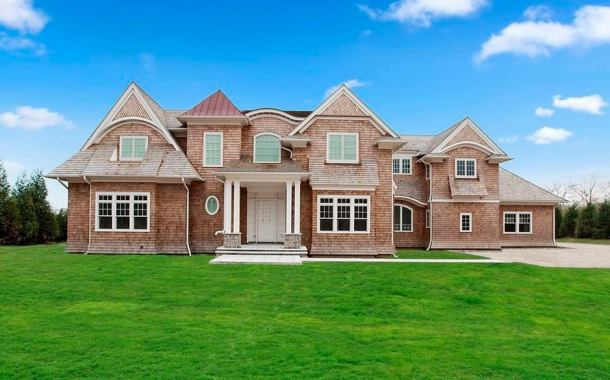 10,000 Square Foot Newly Built Shingle Mansion In Water Mill, NY