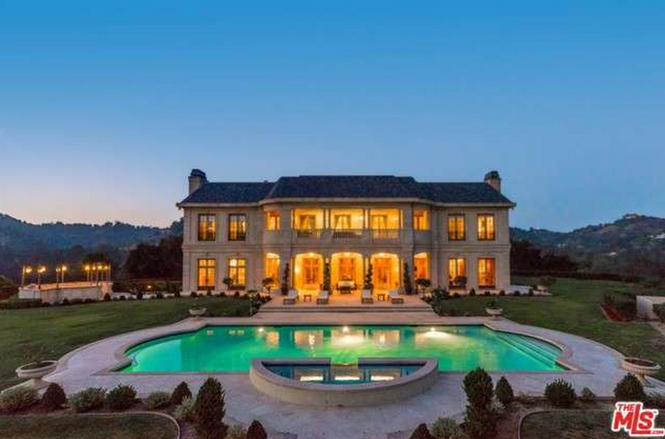 22 000 Square Foot French Chateau In Beverly Hills Ca Re