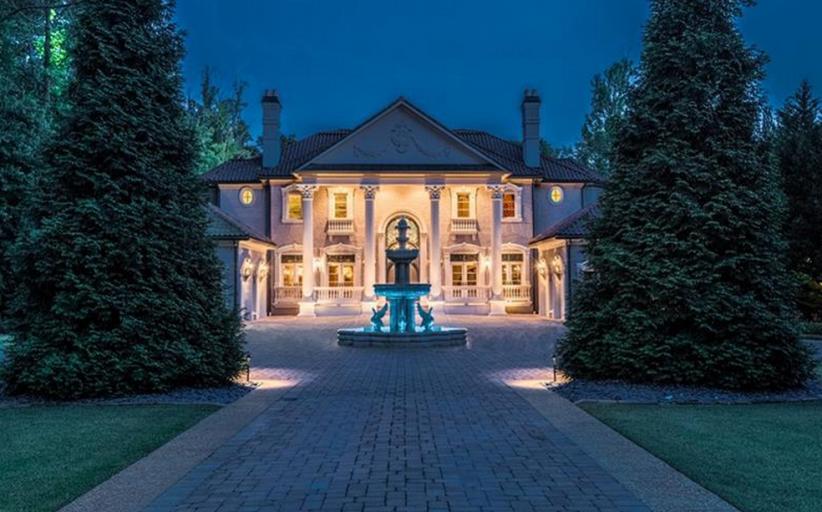 16,000 Square Foot Mediterranean Mansion In Marietta, GA Re-Listed For $9.1 Million