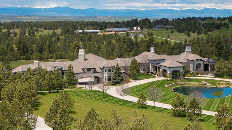 40 000 square foot colorado mega mansion re listed homes for Mega homes for sale