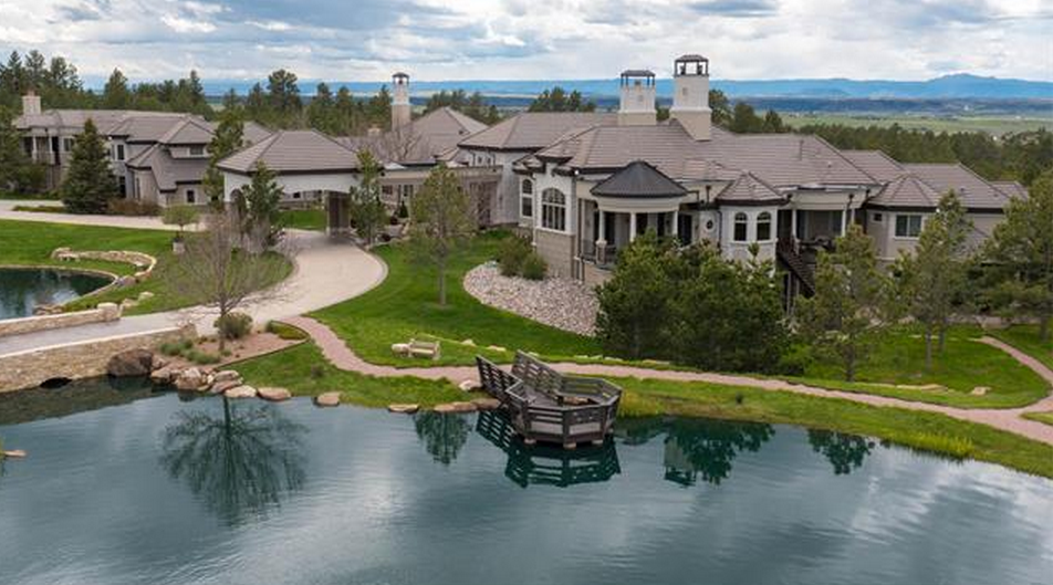 40 000 square foot colorado mega mansion re listed homes for Building a house in colorado