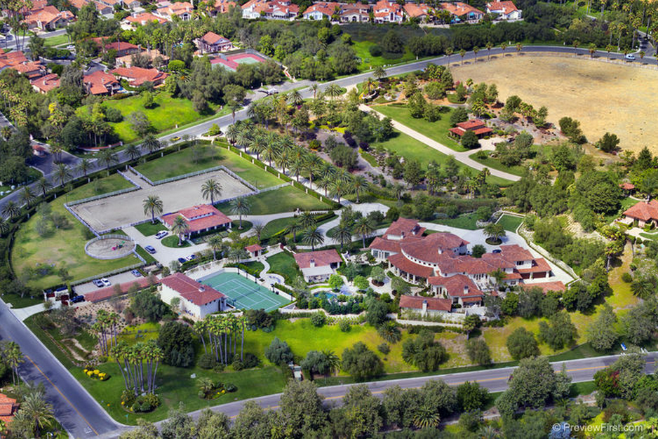 The Belmont A 21 5 Million Equestrian Estate In Rancho