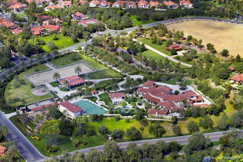 The Belmont – A $21.5 Million Equestrian Estate In Rancho Santa Fe, CA