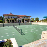 Tennis Court & Gym Building