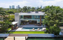 Newly Built Modern Waterfront Home In Miami Beach, FL - $70,000/Month