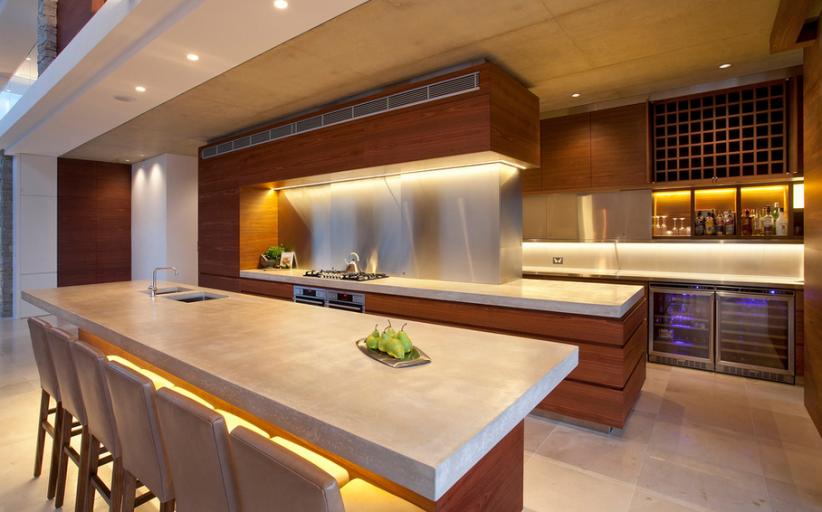 12 Unique Modern/Contemporary Gourmet Kitchens!