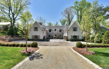 $3.795 Million Newly Built Stone & Stucco Mansion In Tenafly, NJ